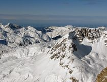 Dal i Alps Arkivbilder