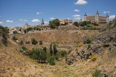 Dal i Toledo, Spanien Arkivbild
