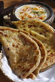 Dal Jo lolo is a paratha from India Royalty Free Stock Photos