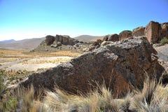 Dal Kala-Kala staden av Oruro Arkivfoton