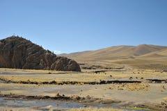 Dal Kala-Kala staden av Oruro Fotografering för Bildbyråer