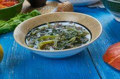 Assamese Dal Kosu Xaak Stock Photos