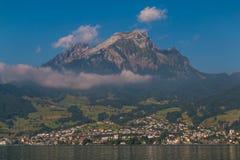 Dal lago Lucerna II Fotografia Stock Libera da Diritti