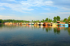 dal-lake Arkivfoton