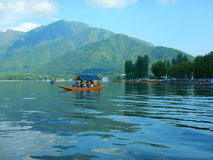 Dal Lake hermoso en Cachemira Imagen de archivo libre de regalías