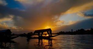 Dal Lake legendário fotografia de stock