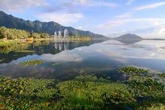Dal lake in Srinagar, India Stock Image