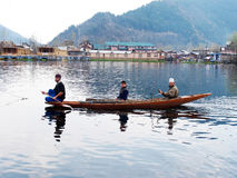 Dal lake -Srinagar Kashmir Stock Photos