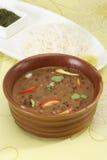 Dal Makhani eller Daal Makhani indisk maträtt fotografering för bildbyråer