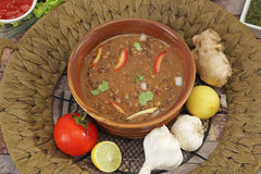 Dal Makhani eller Daal Makhani indisk maträtt royaltyfria foton