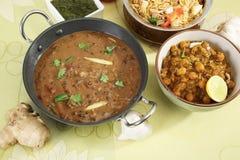 Dal Makhani eller Daal Makhani indisk maträtt royaltyfri foto