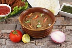 Dal Makhani Indian Food Dish royaltyfri bild