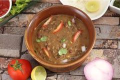 Dal Makhani Indian Food Dish arkivbilder