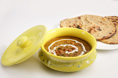 Dal Makhani with Paratha Stock Images