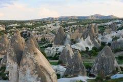 Dal med felika lampglas i Cappadocia Royaltyfria Foton