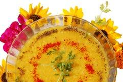 Dal moongi soup Stock Photo