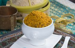 Dal Moth. Fried and Salty Food Dal Moth stock photo