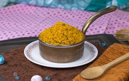 Dal Moth. Fried and Salty Food Dal Moth royalty free stock images