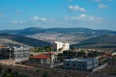 Dal och kullarna av Israel Royaltyfri Fotografi