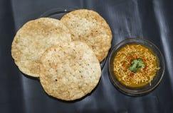 Dal Pakwan - den bästa sikten för berömd kokkonst för Sindhi indisk Royaltyfri Fotografi