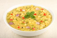Dal or popular north indian lentils dish. Selective focus Royalty Free Stock Photo