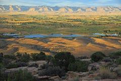 Monumento nazionale di Colorado   Fotografie Stock Libere da Diritti