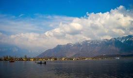 Dal sjö Srinagar Royaltyfria Foton