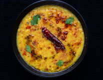 Dal tadka obraz royalty free