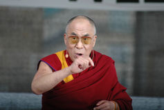 Dalai Lama Royalty Free Stock Photos