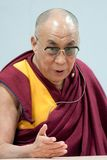 Dalai Lama. At a press conference on world religions Royalty Free Stock Photography