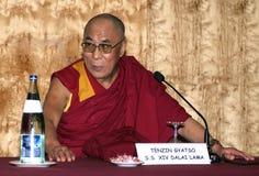 Dalai Lama en Barcelona Fotografía de archivo