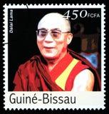 Dalai Lama Postage Stamp foto de archivo