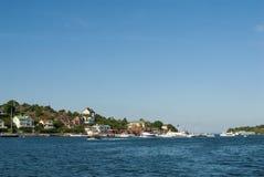 Dalaro village Stockholm archipelago Royalty Free Stock Images