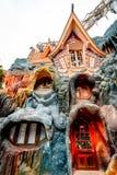 dalat Βιετνάμ 23 Ιανουαρίου 2019 Κρεμάστε Nga guesthouse, τρελλό σπίτι, σε Dalat, Βιετνάμ στοκ εικόνες