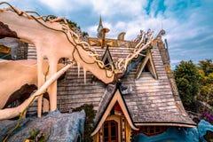 dalat Βιετνάμ 23 Ιανουαρίου 2019 Κρεμάστε Nga guesthouse, τρελλό σπίτι, σε Dalat, Βιετνάμ στοκ φωτογραφίες με δικαίωμα ελεύθερης χρήσης