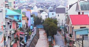 Dalat, Βιετνάμ - 21 Μαρτίου 2019 Δυνατή βροχή στο Χάιλαντς Dalat, Βιετνάμ o φιλμ μικρού μήκους