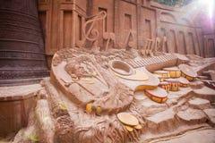 DALAT, ΒΙΕΤΝΆΜ - 17 Φεβρουαρίου 2017: Ο καταπληκτικός προορισμός για τον τουρισμό του Βιετνάμ, έργο της τέχνης ξέρει ως σήραγγα γ στοκ φωτογραφία