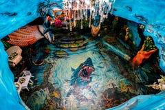 dalat Вьетнам 23-ье января 2019 Повисните дом для гостей Nga, сумасшедший дом, в Dalat, Вьетнам стоковое фото