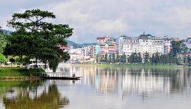 Город Dalat, Вьетнам Стоковое фото RF
