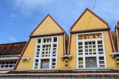 Old architecture in Dalat, Vietnam