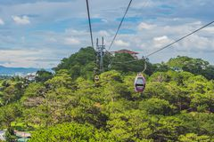 Free Dalat Cable Car At Robin Hill, Truc Lam. Vietnam Stock Images - 159612564
