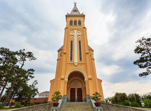 Dalat cathedral Stock Image