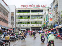 Dalat central market, Vietnam royalty free stock photo