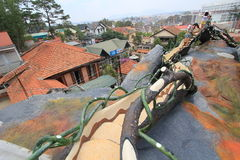Dalat Crazy House in Vietnam Royalty Free Stock Images