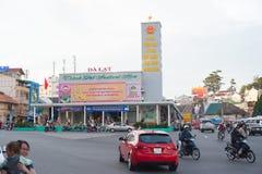 Dalat downtown, cinema Royalty Free Stock Image