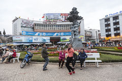 Dalat main square Stock Photo