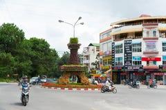 Dalat - poca París de Asia (en Vietnam) Imágenes de archivo libres de regalías