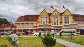 Dalat Railway Station, Vietnam royalty free stock images