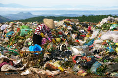 People pick up garbage at dumping ground. DALAT, V Stock Photo