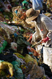 People pick up garbage at dumping ground. DALAT, V Stock Image